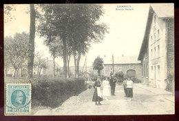Cpa Lierneux  Attelage - Lierneux