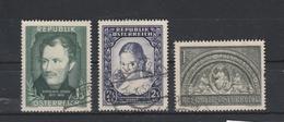 Mi. Nr. 975, 976, 977 Gestempelt - 1945-.... 2. Republik