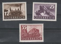Mi. Nr. 646 - 648 Postfrisch - 1918-1945 1. Republik