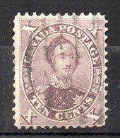 Col11   Canada  N° 15 Oblitéré Cote 80,00 Euros - 1851-1902 Règne De Victoria