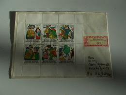 B710  Germania Ddr  Busta Affrancata - FDC: Enveloppes
