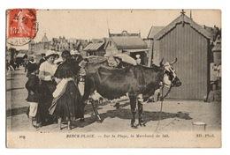 62 PAS DE CALAIS - BERCK PLAGE Sur La Plage, La Marchande De Lait - Berck