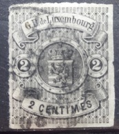 Luxemburg   1859    Nr. 4   Gestempeld    CW 700,00 - 1859-1880 Wappen & Heraldik