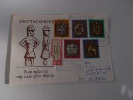 B710  Germania Ddr Slawischen Statten - FDC: Enveloppes