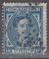 SPAIN    SCOTT NO. 223    USED    YEAR  1876 - 1875-1882 Königreich: Alphonse XII.