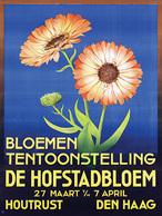 @@@ MAGNET - Bloemen Tentoonstelling De Hofstadbloem Den Haag - Publicitaires