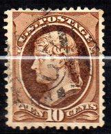 Col11   Etats Unis Amerique USA  N° 44  Oblitéré Used Cote 30,00 Euros - 1847-99 Emissions Générales