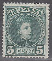 SPAIN    SCOTT NO. 273   USED    YEAR  1901 - 1889-1931 Kingdom: Alphonse XIII
