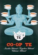 @@@ MAGNET - Co-Op Te India Blend- Ceylon Blend China Blend - Publicitaires