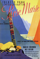 @@@ MAGNET - Folkets Park Centraloperetten Rose Marie - Publicitaires