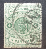 Luxemburg   1874    Nr. 26        Gestempeld    CW  140,00 - 1859-1880 Coat Of Arms