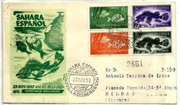 Sahara Español Nº 108/11 En Sobre - Sahara Español