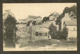 CP-MENDE- Le Lot Et Le Pont Notre-Dame - Mende