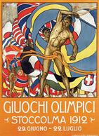 @@@ MAGNET - Giuochi Olimpici Stoccolma - Publicitaires