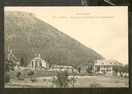 CP-MENDE- Chapelle Du Cimetière Et Le Mont-Mimat - Mende