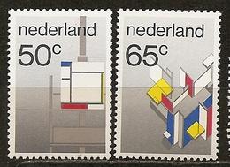 Pays-Bas Netherlands 1983 De Stijl Mondriaan Art Set Complete MNH ** - Period 1980-... (Beatrix)