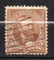 Col11   Etats Unis Amerique USA  N° 101 Oblitéré  Cote  6,00 Euros - Used Stamps