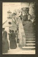CP-MENDE- Ermitage De Saint-Privat, Les Escaliers - Mende