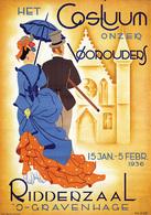 @@@ MAGNET - Het Costuum Onzer Voorouders Ridderzaal 's Gravenhage - Publicitaires