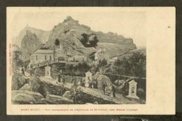 CP-MENDE- Mont-Mimat - Vue Panoramique De L'Hermitage De St-Privat, Près Mende - Mende