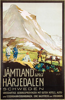 @@@ MAGNET - Jämtland Und Härjedalen Schweden - Publicitaires