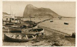 GIBRATAR - The Rock From Spanish Beach - Gibraltar