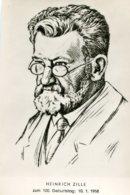 GERMANY - Heinrich Zille Cartoon Hand Drawn  1958 - Prix Nobel