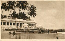 SRI-LANKA (Ceylon) - Bathing Pavilion - Mt Lavina Hotel- Tuck Postcard - Sri Lanka (Ceylon)