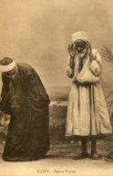 EGYPT -  Natives Praying - VG Ethnic Etc - Afrique