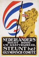@@@ MAGNET - Nederlanders Steunt Het Olympisch Comité - Publicitaires
