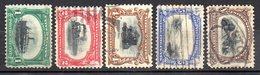 Col11   Etats Unis Amerique USA  N° 138 à 142 Oblitéré Used  Cote  110,00 Euros - Used Stamps