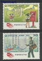 South Korea 1984 Mi 1365-1366 MNH ( ZS9 SKA1365-1366 ) - Poste