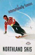 @@@ MAGNET - Northland Skis - Publicitaires