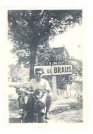 Photo Homme Sur Moto , Col De Braus ( N. 204 Escarène Et Sospel ) - Photos