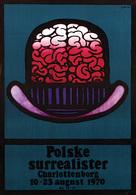 @@@ MAGNET - Polske Surrealister Charlottenborg - Publicitaires