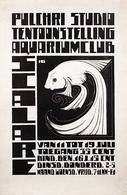 @@@ MAGNET - Pulchri Studio Scalare Tentoonstelling Aquariumclub - Publicitaires