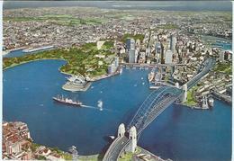 Australia > New South Wales (NSW) > Sydney - Port Jackson.postcard Via Yugoslavia - Sydney
