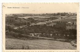 EREZEE (Ardennes). - Panorama. Collect. R. Delvaux. Hôtel De Belle Vue. Erezée (Ardennes). - Erezée