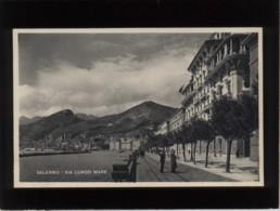 Salerno Via Lungo Mare édiz. Ditta Vincenzo Cataneo - Salerno