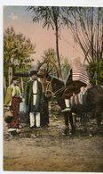 325. CPA COLORISEE ROUMANIE BUCAREST 1919. - Roumanie