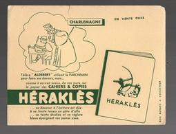 Buvard Héraklès Cahiers & Copies - Charlemagne - Papeterie