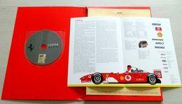 Dossier Presse 2004 - Scuderia Ferrari Marlboro - DVD - Media Pictures - Maranello - Schumacher - Barrichello - Badoer - Car Racing - F1