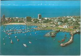 Uruguay - Punta Del Este - Harbour / Le Port / Puerto.Postcard Via Yugoslavia 1977. Nice Stamps - Uruguay