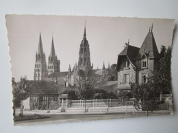 Bayeux. La Cathedrale Vue Du Boulevard Sadi-Carnot. Gladigny 2 - Bayeux