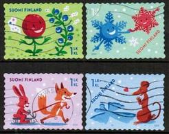 2015 Finland, Friends Together, 4 V Used. - Finlande