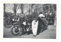 Photo Militaire  & Sa Moto , à Identifier - Photos