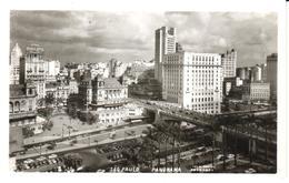 POSTAL    SAO PAULO  - BRASIL  - PANORAMA PARCIAL  (FOTO POSTAL COLOMBO) - São Paulo