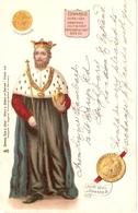 """King Edward II""  Tuck Kings & Queens Of Egand Series PC # 614 - Tuck, Raphael"