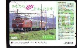 Carte Prépayée  Japon * TRAIN * JR * IO * CARD * (4864) Japan Prepaid Card * ZUG * Karte * TREIN * IO * - Treni