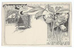 Illustrateur Rocher - Petit Trianon - Le Boudoir - Art Nouveau - Autres Illustrateurs